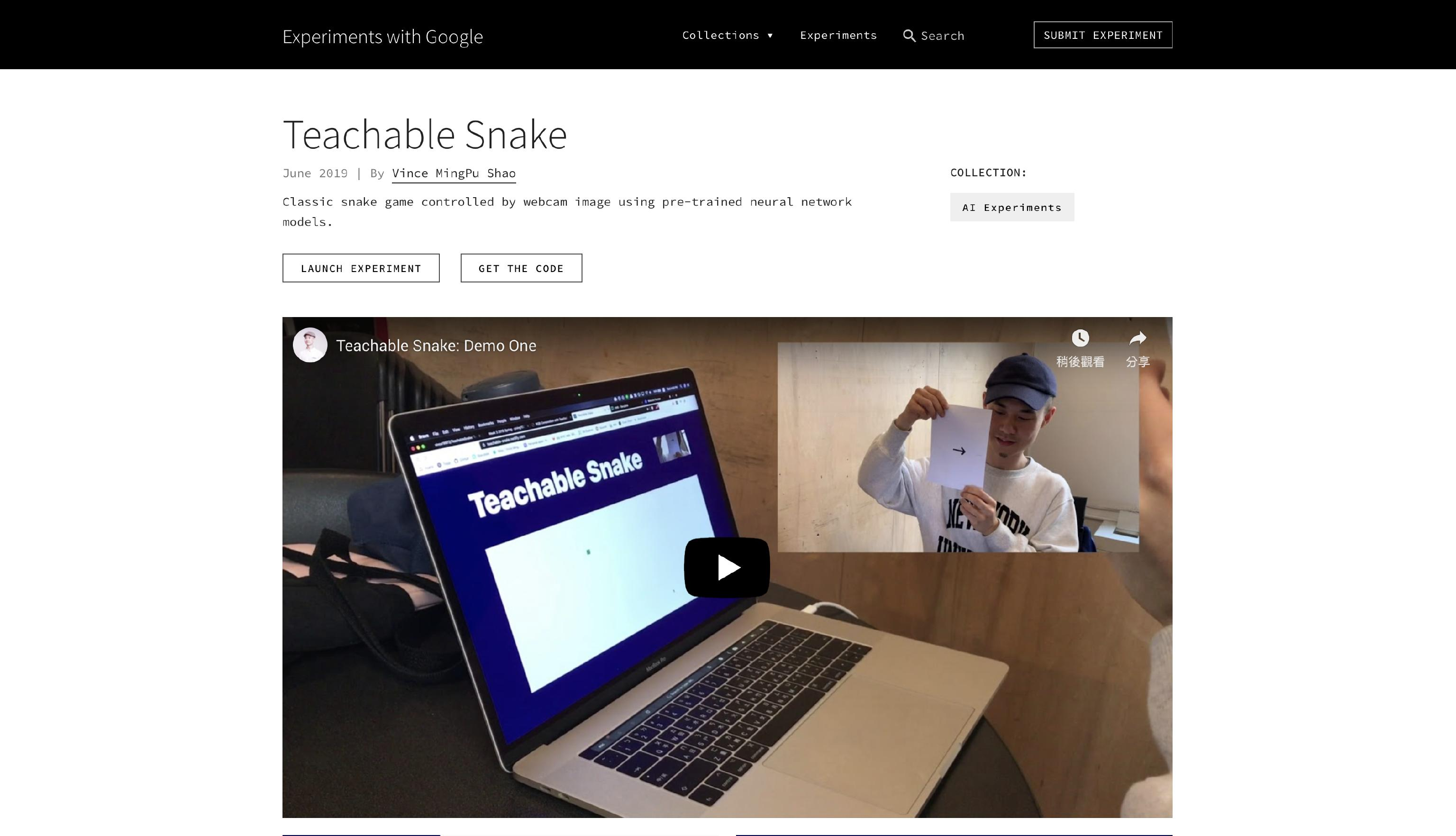 Teachable Snake