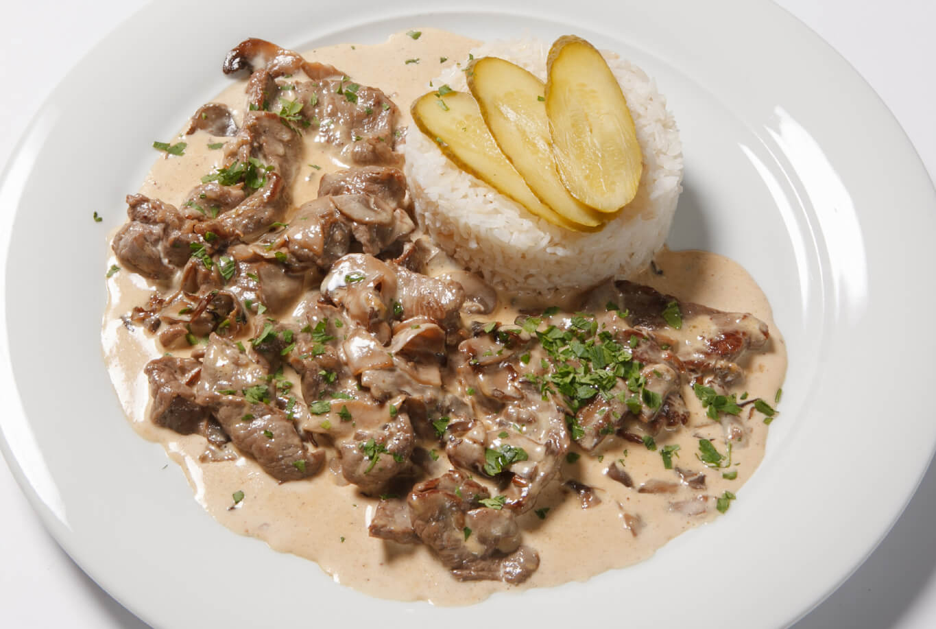 stewed veal with rice