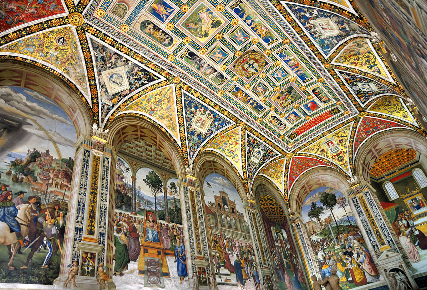 Piccolomini Library in Siena
