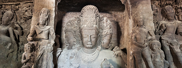 stone carven statues in india