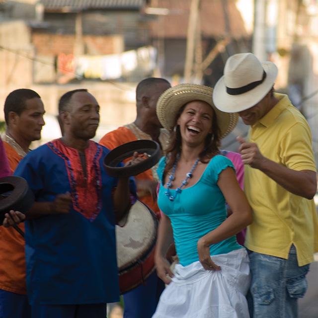 people dancing together in cuba