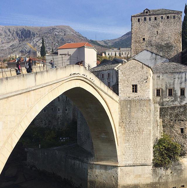 old stone bridge in mostar