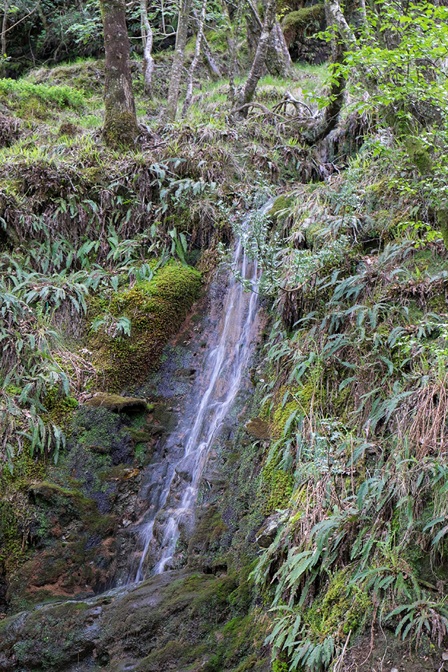 waterfall in glendalough ireland
