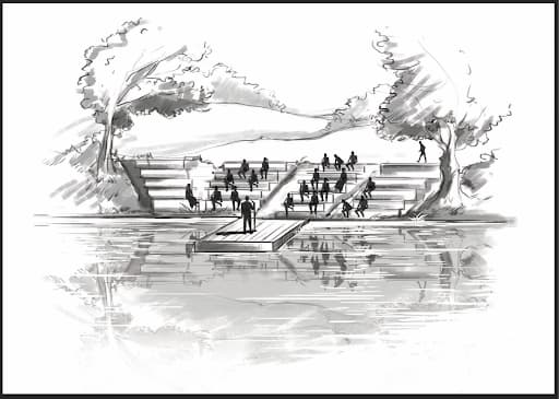 Le théâtre sur l'eau