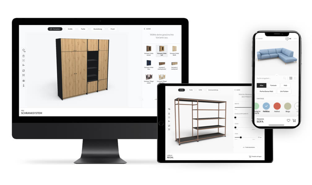 The new Roomle Configurator Interface image