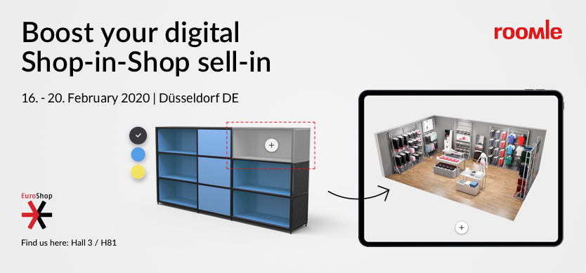 Digital shop-in-shop planning at POS image