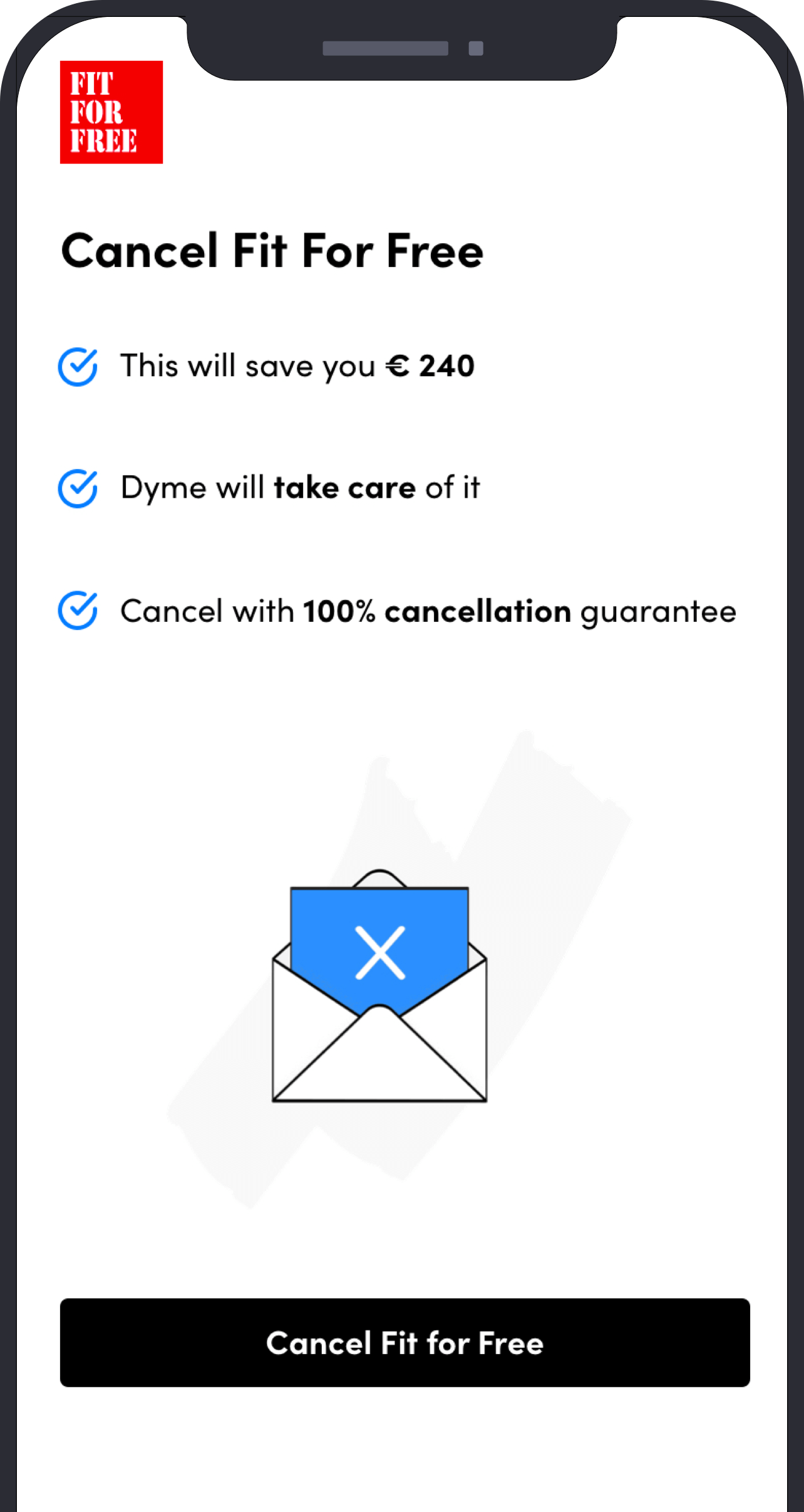 Cancel unwanted subscriptions in one click