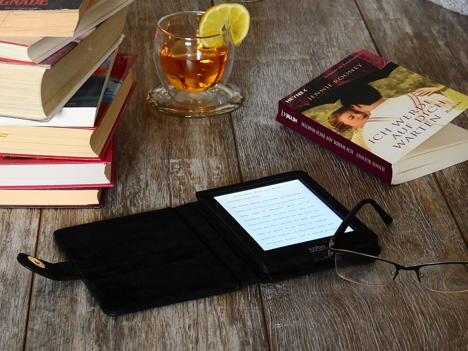 zwarte e-reader bookchoice