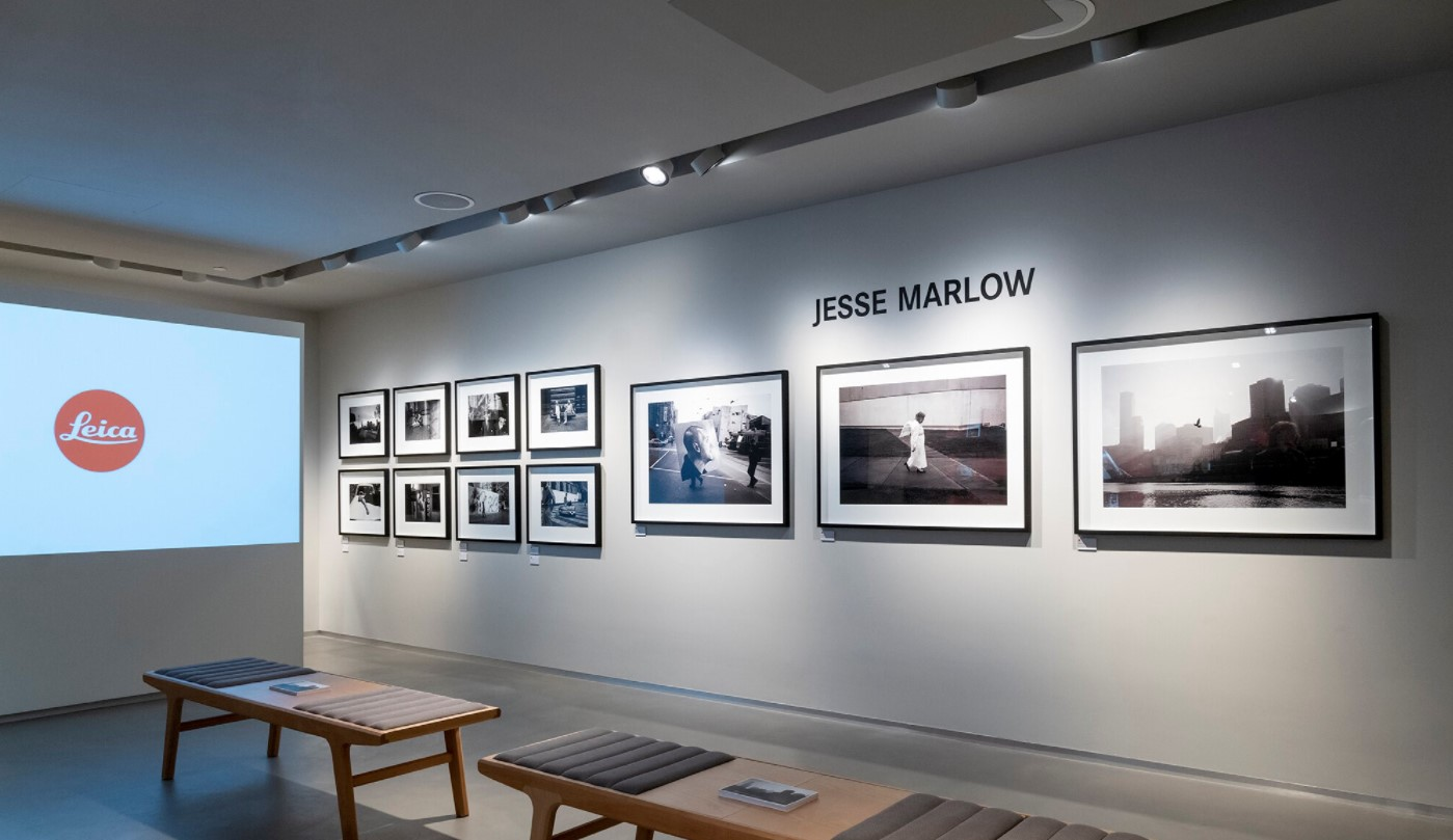 Jesse Moore's SECOND CITY Exhibition at Leica