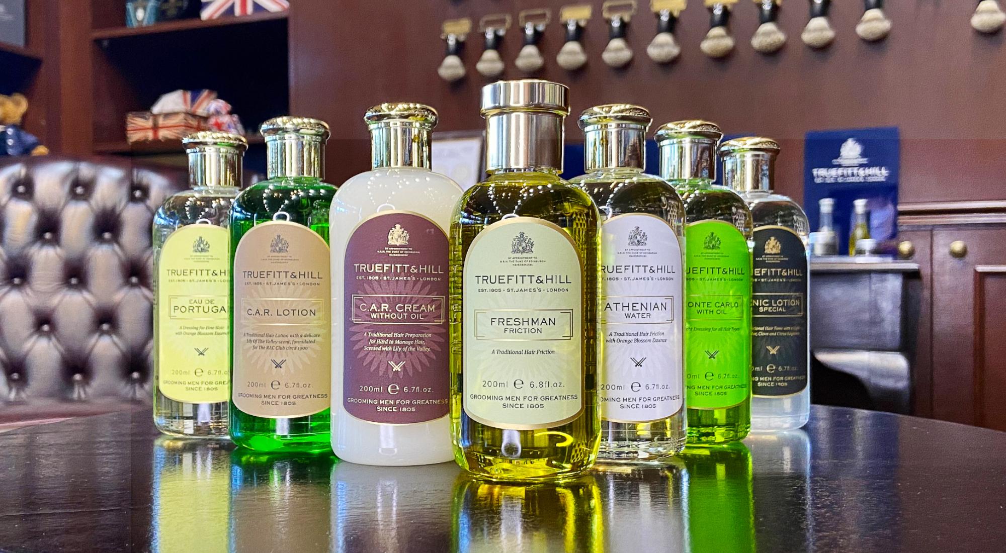 Save on Truefitt & Hill's Range of Quality Hair Tonics