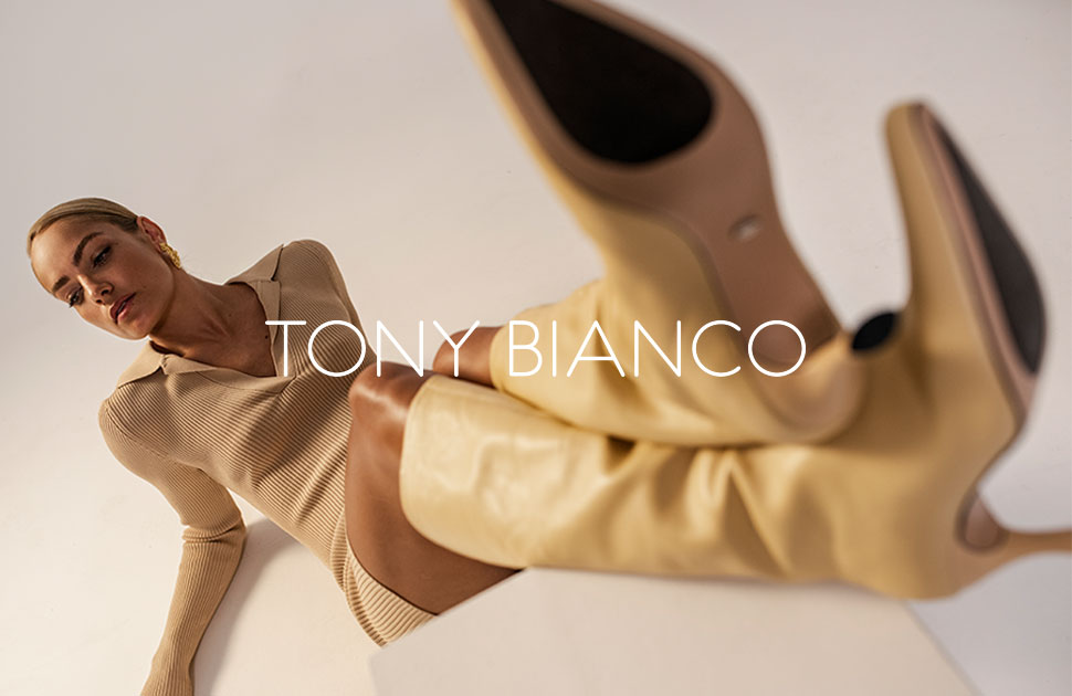 Tony Bianco: now at the QVB