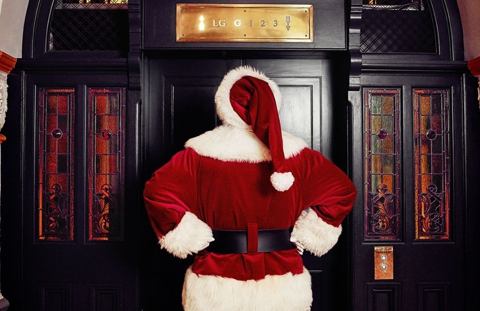 Yes! Santa is coming to the QVB but not as you know it