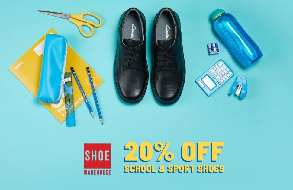Shoe Warehouse's Back to School Sale