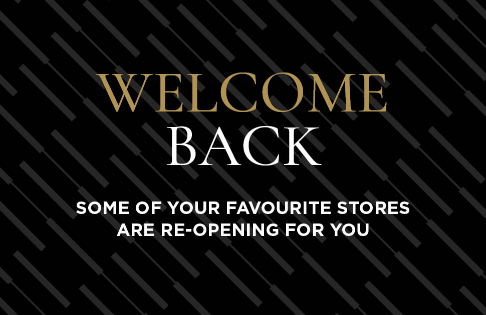Welcome Back - Store Updates