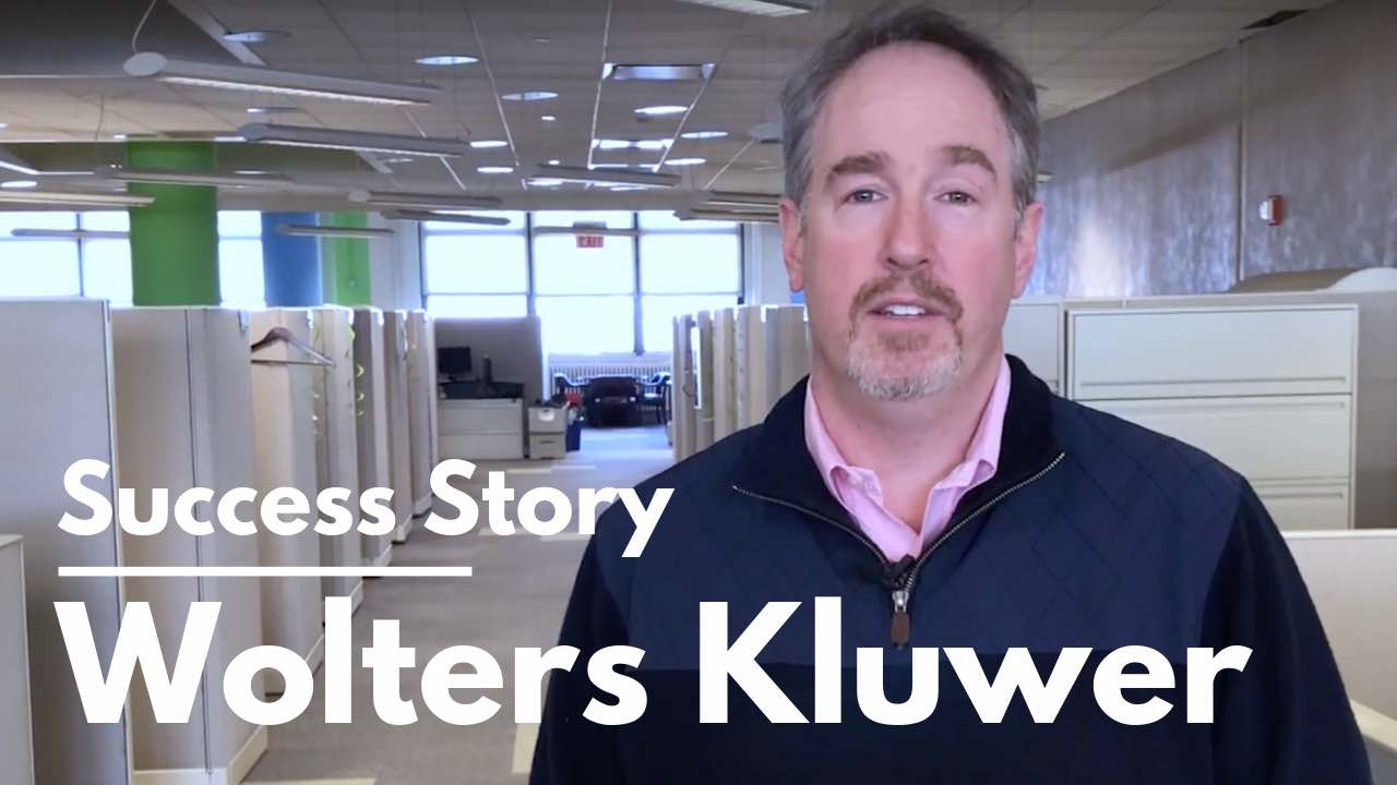Wolters Kluwer Testimonial