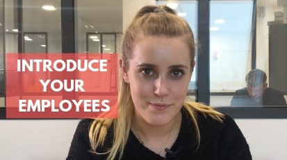 Introduce your employees