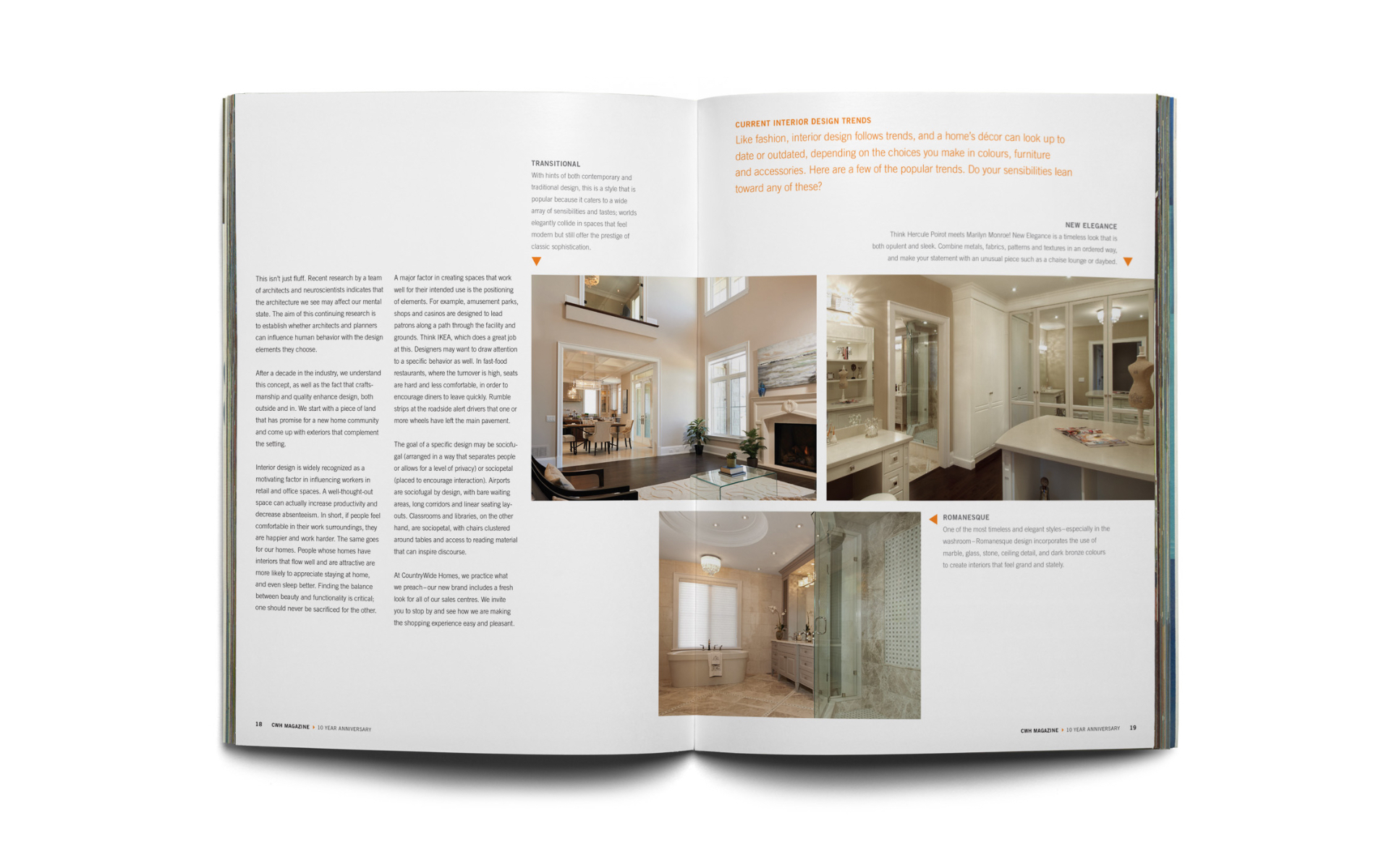 CWH 10 Years Magazine by CountryWide Homes