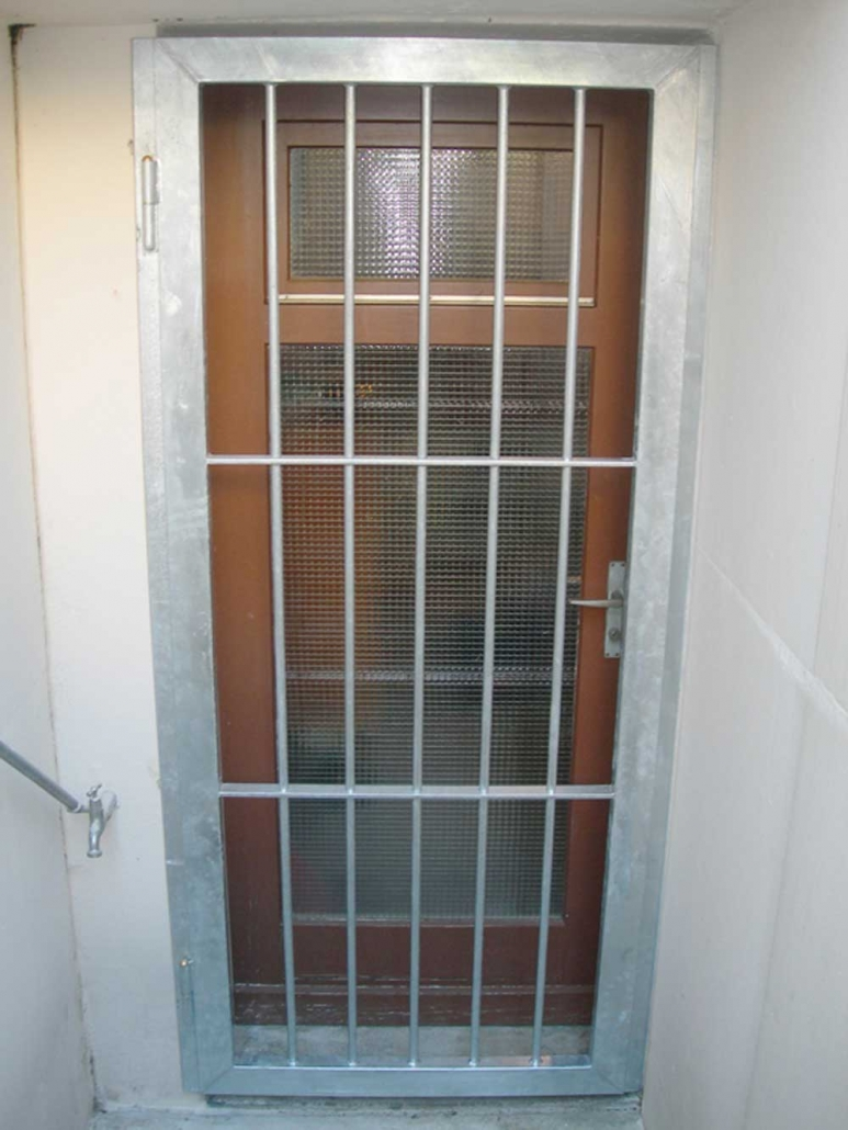 Immoeinbruchschutz Gitter