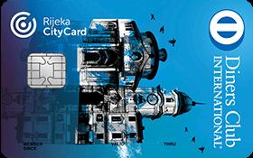Diners club Rijeka city card