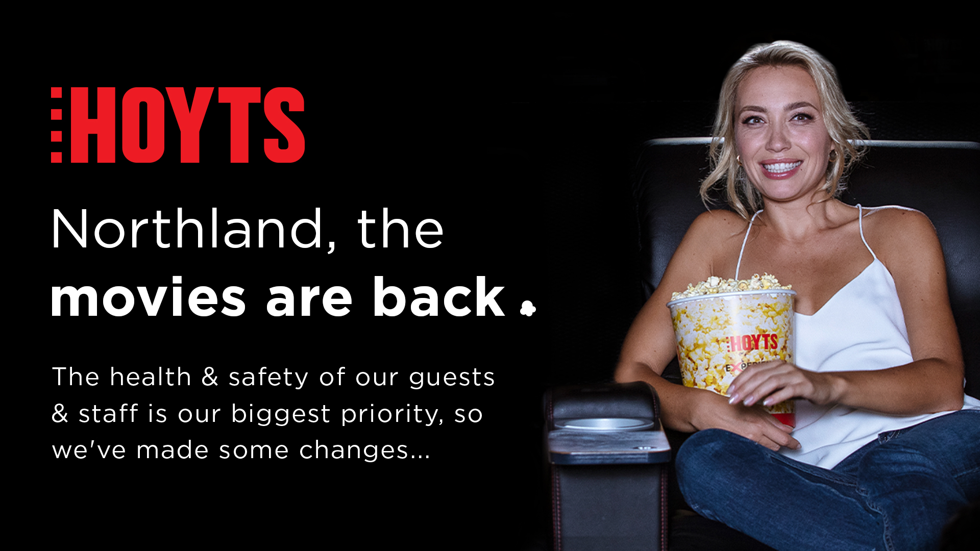 Hoyts Northland is Reopening