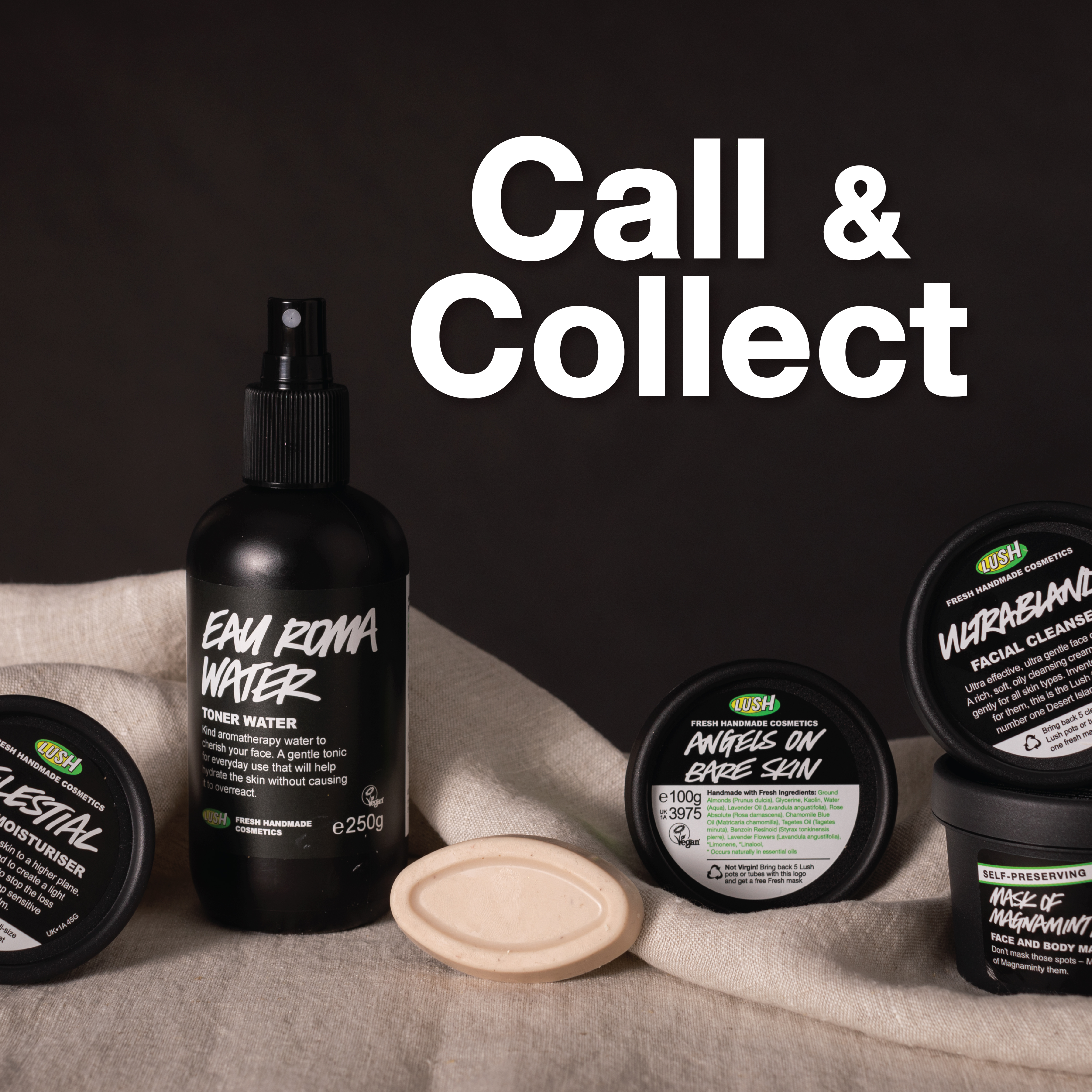 Lush Call and Collect