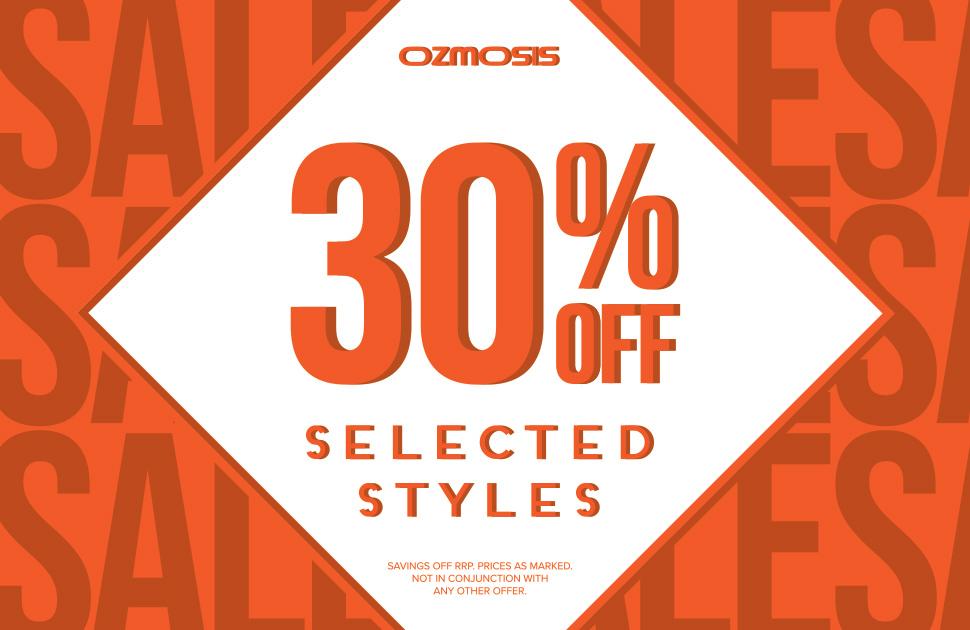 Ozmosis Mid Year Sale