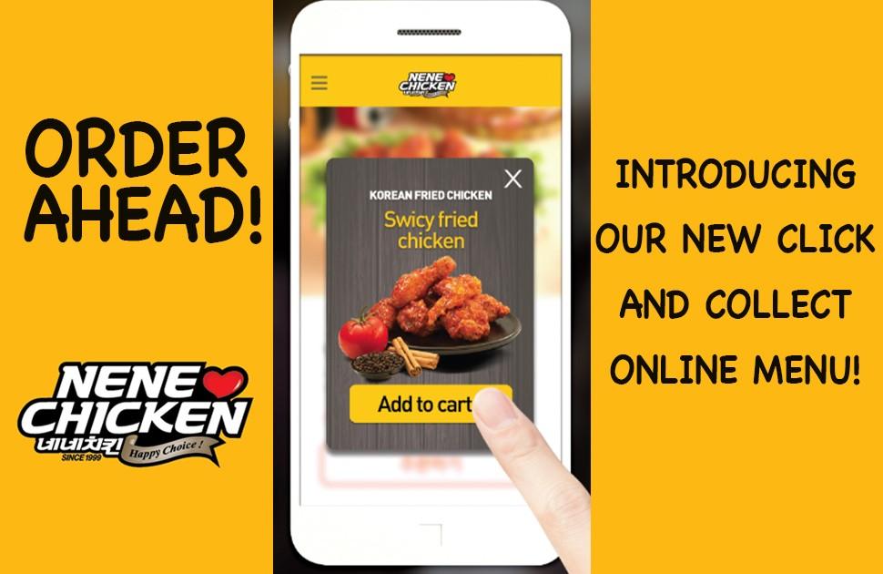 Order Online with NeNe Chicken