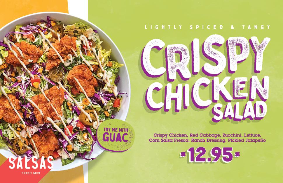 New Crispy Chicken Salad