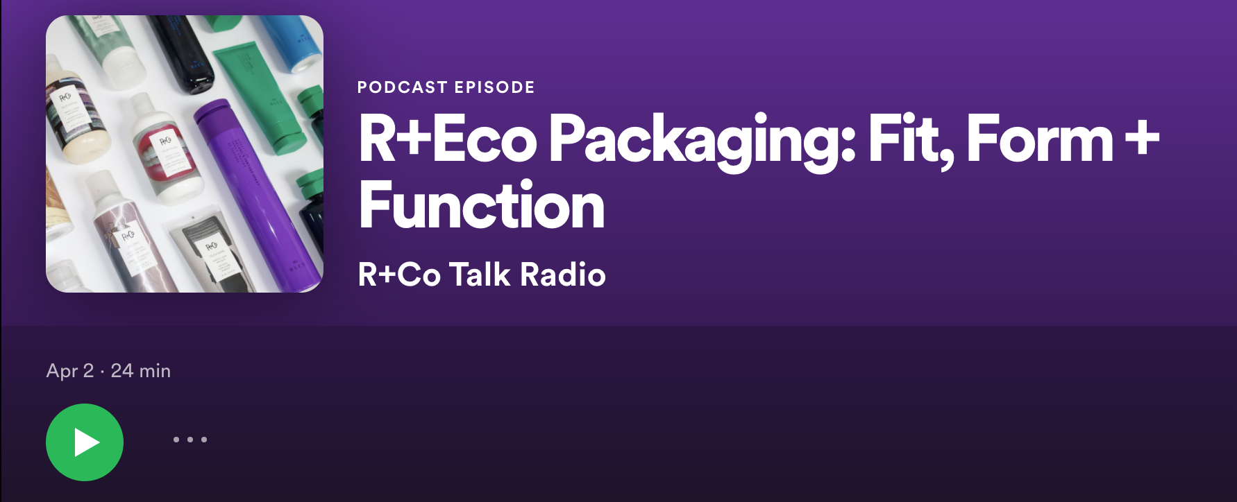 R+Eco Packaging Podcast