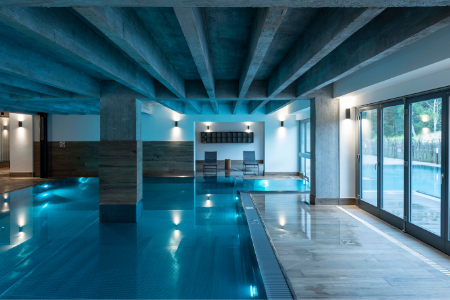 SLV wandlamp indoor pool