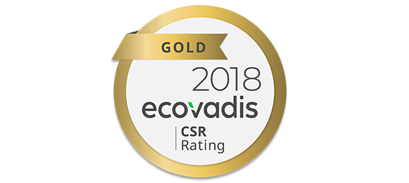 Gold Status with EcoVadis