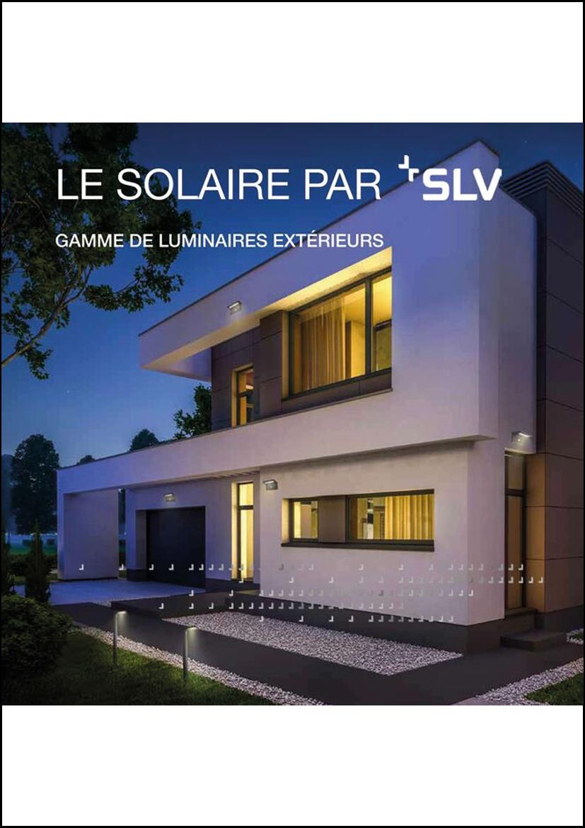 Catalogue luminaire solaire SLV