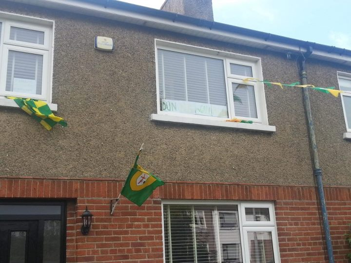 All Ireland Flags of Support in Clontarf