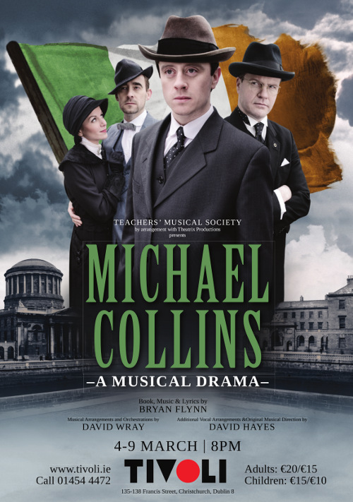 Local teachers to star in Michael Collins, A Musical Drama