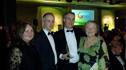 Pictured here are Elaine Mulvenny (DCC), Niall Geaney, (CBA), Ronan Morris (loveclontarf.ie), Deirdre Tobin (CRA)