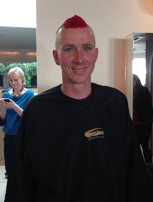 Clontarf's Shave, Wax or Dye Night Success