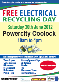 free recycling days for electrical items