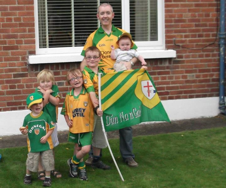 Gallagher family - Donegal Supporters in Clontarf