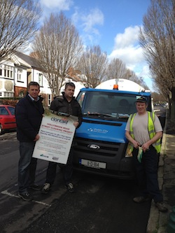 Hollybrook Road, Clontarf - Clean up operation