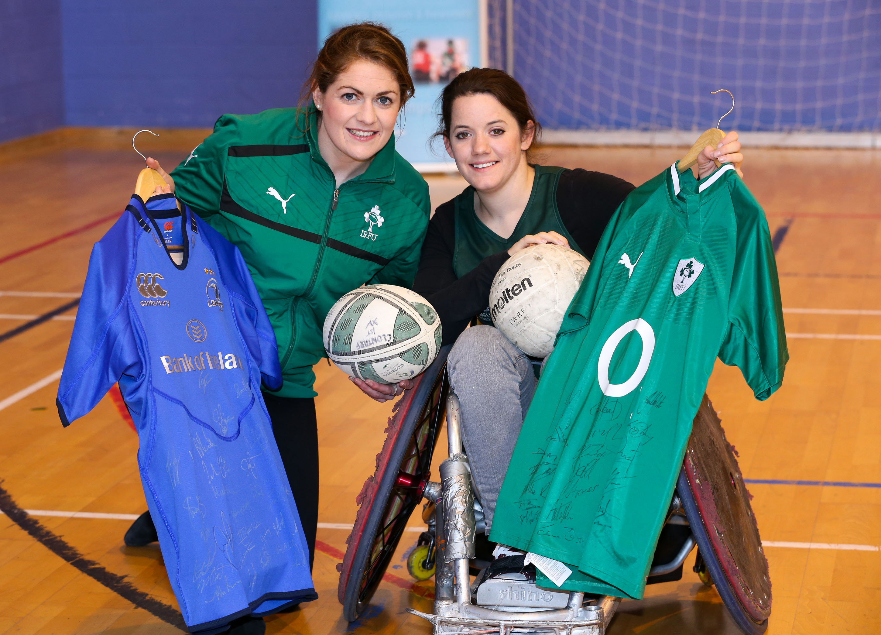 Irish Rugby Captain Answers Irish Wheelchair Associations Call for Support