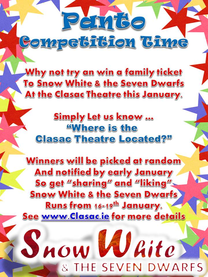 christmas panto competition reminder