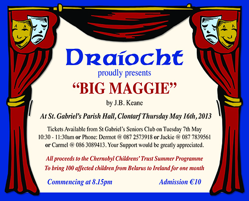 'Big Maggie' in aid of Chernobyl Childrens Trust