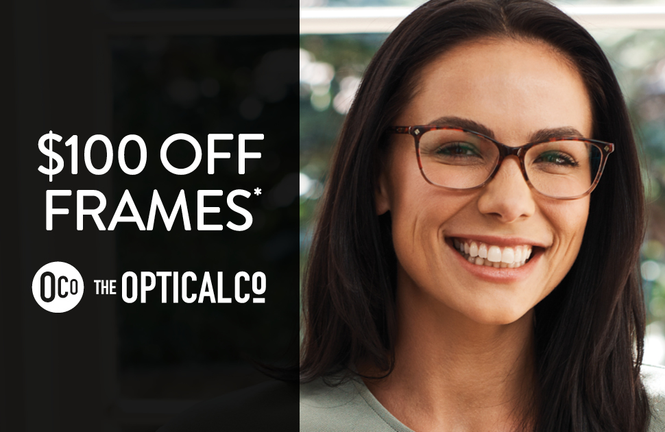 The Optical Co - $100 off frames