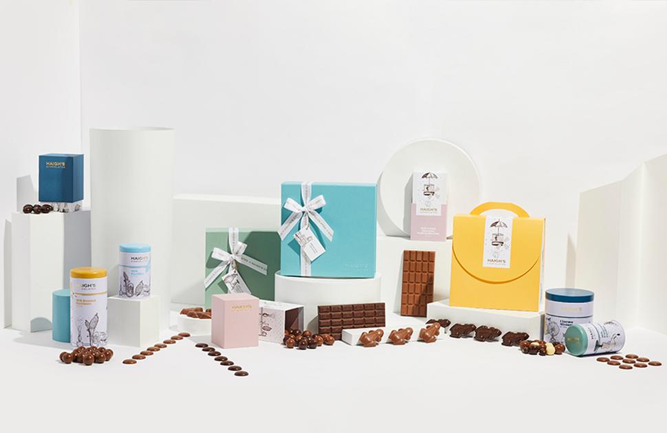 Haigh's Chocolates London Road Gift Range