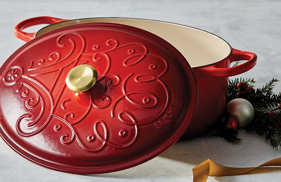 Introducing the Le Creuset Noel Holiday Collection
