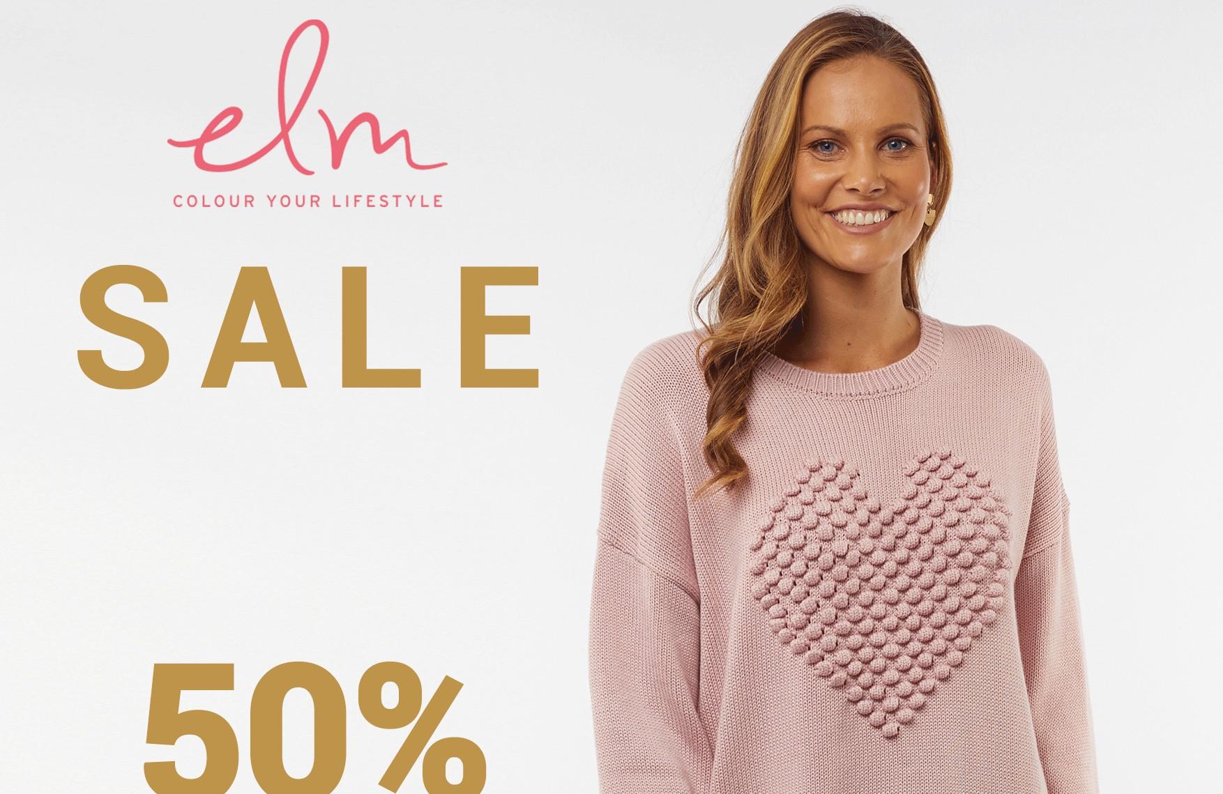 Elm End Of Season Sale