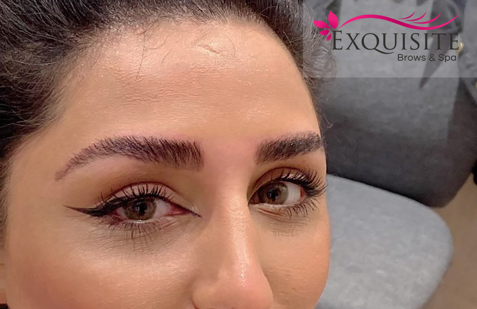 Brow Lamination at Exquisite Brows & Spa