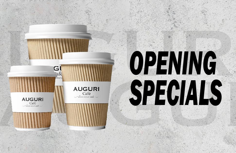 Auguri Grand Opening