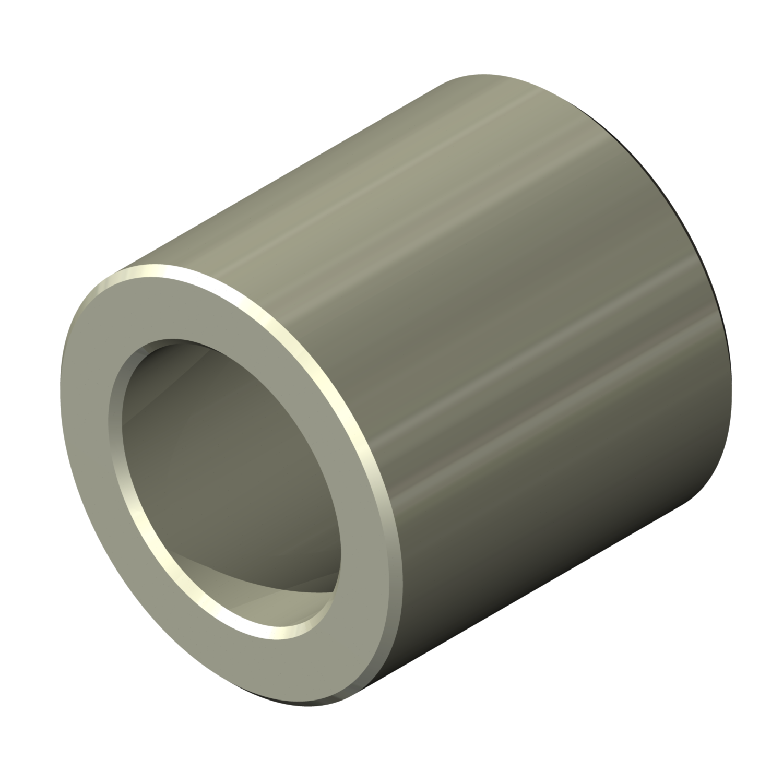 6.25 Length, 6-32 Screw Size Pack of 1 0.312 OD Steel Female Zinc Plated Lyn-Tron