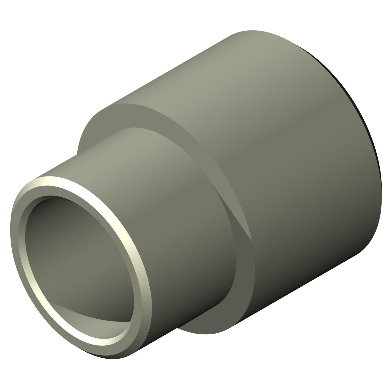 6mm OD Lyn-Tron M3-0.5 Screw Size Pack of 10 25mm Length, Female Zinc Plated Steel